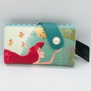Loungefly Ariel Little Mermaid Wallet new